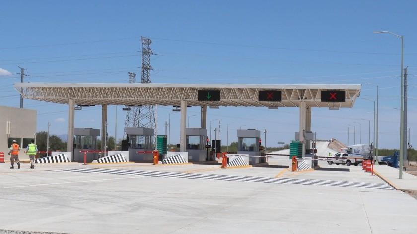 Con una inversión que supera los mil 750 millones de pesos por 41 kilómetros de concreto hidráulico, quedó inaugurado el libramiento Hermosillo.