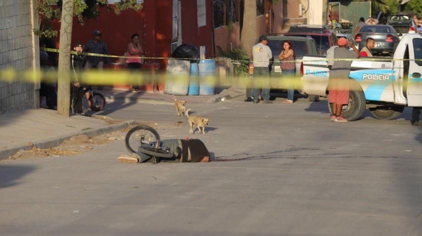 Un hombre fue asesinando la tarde de ayer en la colonia El Pípila.