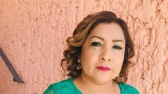 Dora Angélica Valdez Ramírez es maestra desde hace 20 años en la zona indígena.