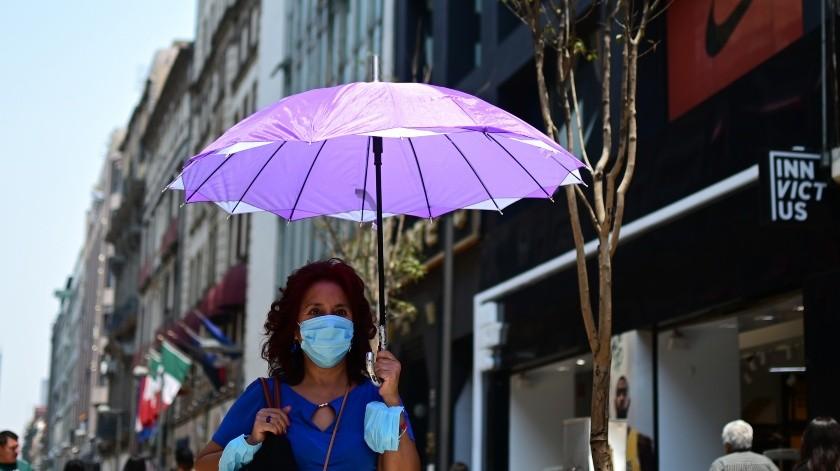 La Comisión Ambiental de la Megalópolis (CAMe) informó en su último reporte de las 10:00 de la mañana de este miércoles (hora de la CDMX) que se mantiene la contingencia ambiental extraordinaria por partículas PM2.5 y ozono en la Zona Metropolitana del Valle de México, así como las medidas aplicadas.(AFP)
