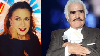 Laura Zapata externó su apoyo incondicional a Vicente Fernández luego de ser señalado de homofóbico.