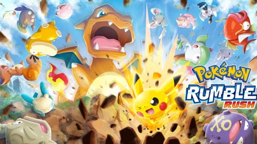 Pokémon Rumble Rush nos dejará mejorar a nuestros Pokémon para potenciar sus habilidades y mejorar los puntos de daño que inflingen.(Cortesía)