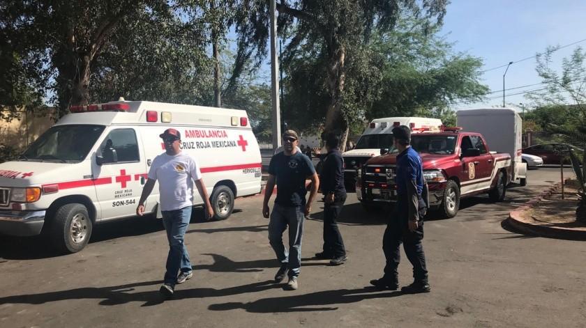 Evacuan área de urgencias del Hospital General del Estado(Anahí Velásquez)