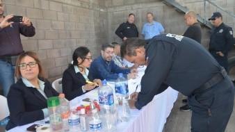 Realizan prueba antidoping a la Policía Municipal de Nogales.