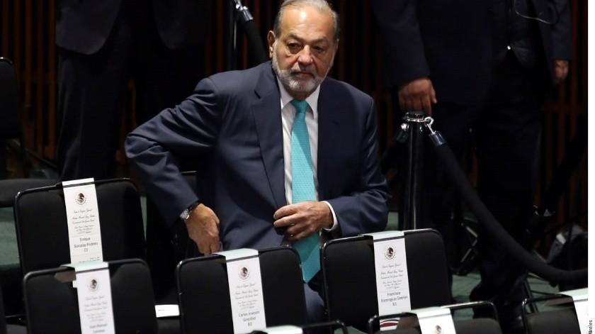 Carlos Slim.(Reforma)