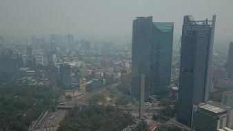 La mala calidad del aire permanecerá todo el fin de semana.