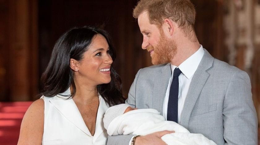 Harry y Meghan anunciaron semanas antes del nacimiento que querían mantener muchos de los detalles en privado.(Cortesía)