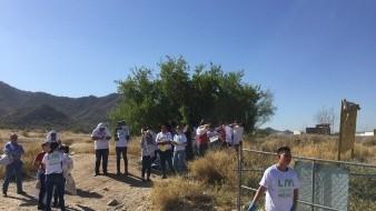 Más de 200 personas ayudan a limpiar Cerro del Bachoco.