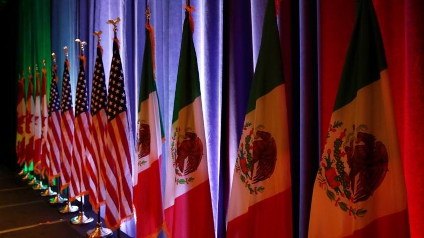 México espera que el tratado comercial con Estados Unidos y Canadá (T-MEC) sea ratificado por el Congreso de EUhacia fines de julio(AP)