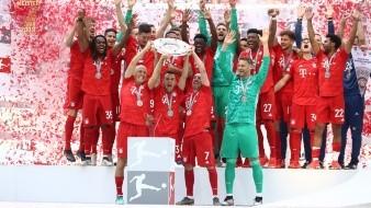 Con goleada, Bayern Múnich es campeón por 7ma vez consecutiva de la Bundesliga