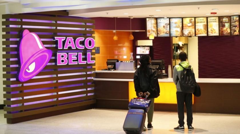 Habrá bocadillos y cocteles de Taco Bell, y uñas con decoración de Taco Bell en el salón de belleza.(AP)