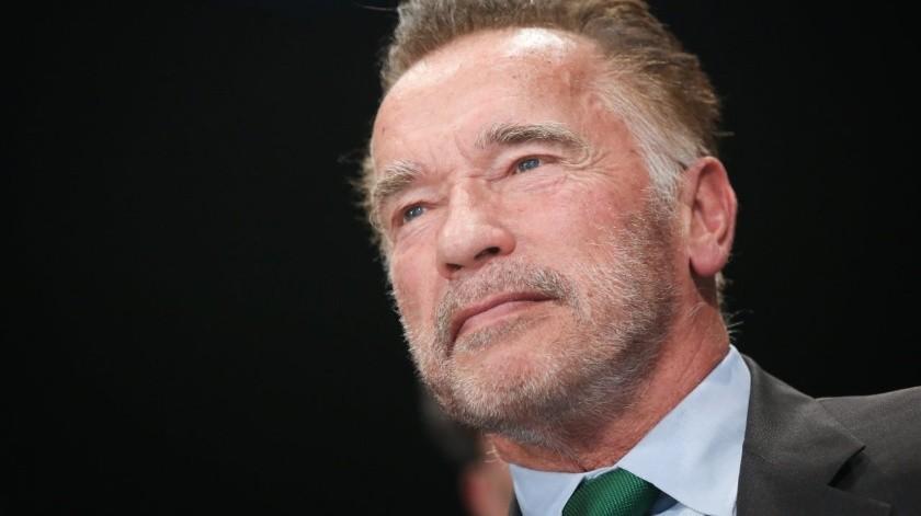 Arnold Schwarzenegger(Tomada de la red)