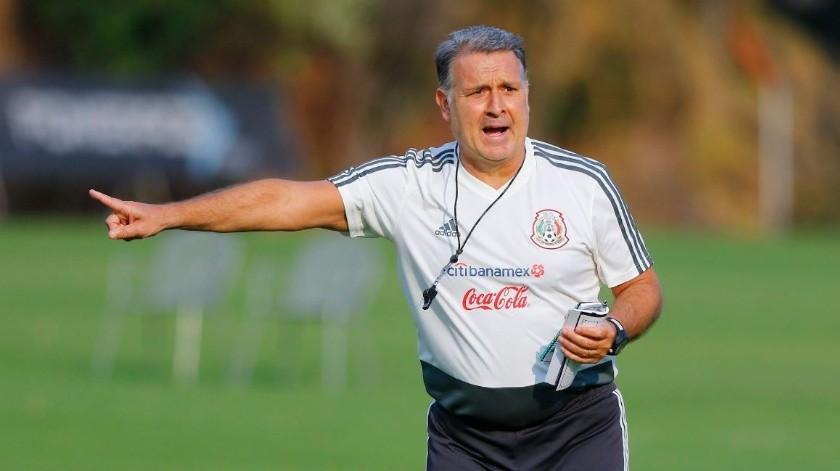 "El once titular del ""Tata"" Martino en el ""Tri"" toma forma(GH)"