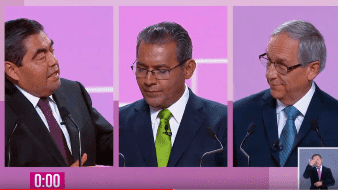 Durante la primera mitad del debate, organizado por el Instituto Nacional Electoral, los candidatos a la gubernatura de Puebla se acusaron de ser