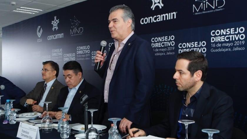 Francisco Cervantes Díaz, líder de la Confederación de Cámaras Industriales (Concamin).