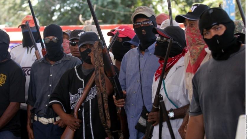 Se matan entre sí miembros de grupo de autodefensa(GH)