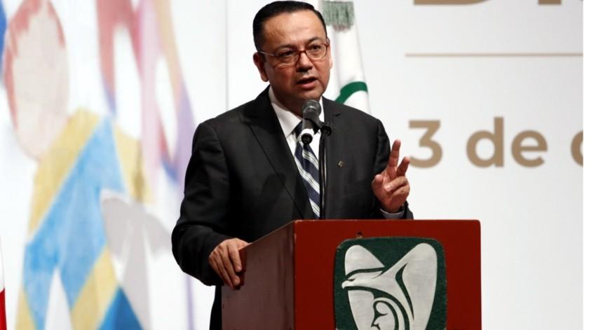Germán Martínez presentó este martes su renuncia a la Dirección General del IMSS.(Reforma)