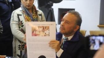 Fernando Castro Trenti ofreció una conferencia de prensa.
