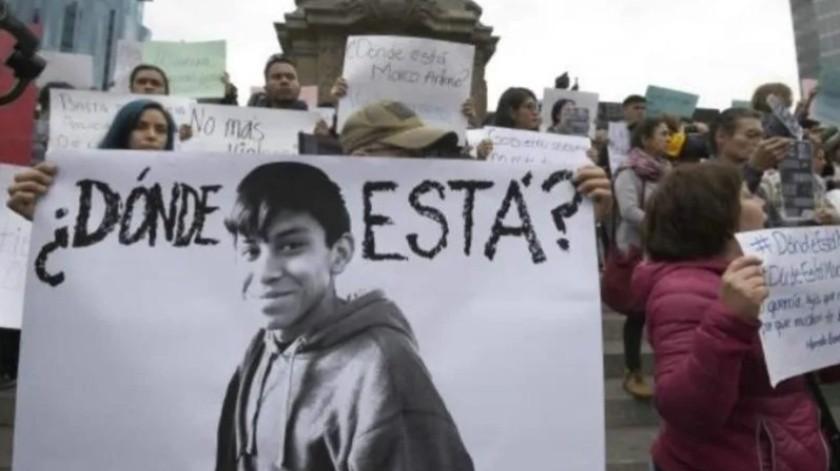 Tras su desaparición, la UNAM pidió esclarecer el caso del estudiante Marco Antonio Sánchez.