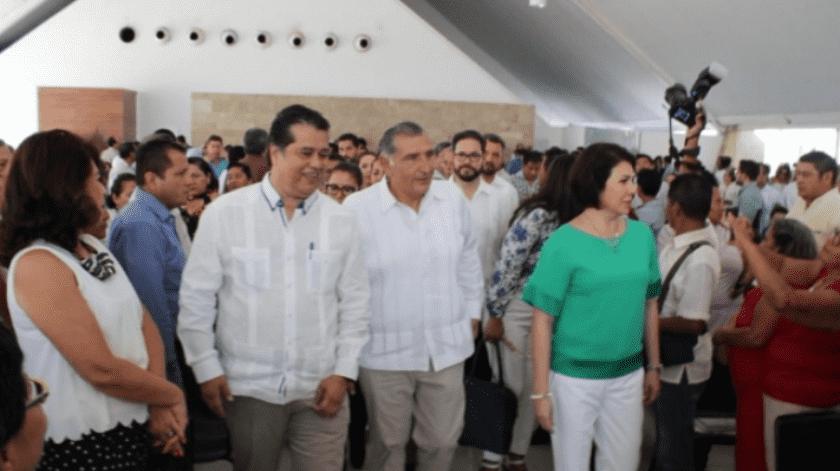 El gobernador de Tabasco acusó al titular de ASEA de corrupto y chantajista.(Twitter@Gob_Tab)