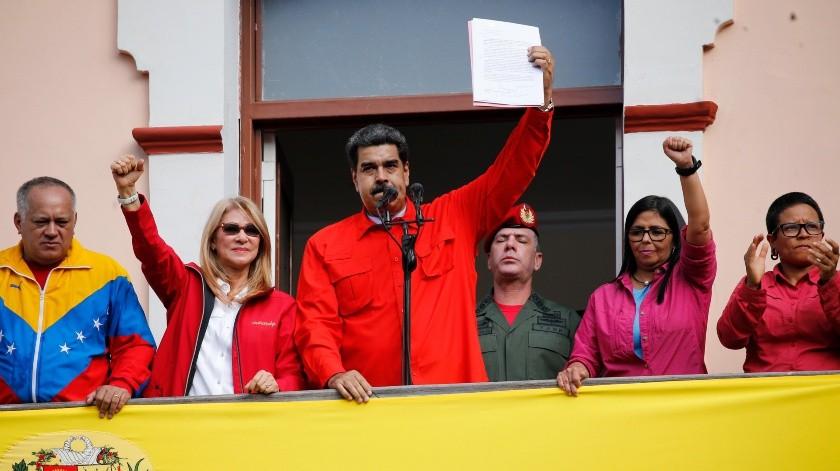 """Nicolás Maduro pide a las fuerzas armadas capturar a """"traidores que surjan"""".(GH)"""