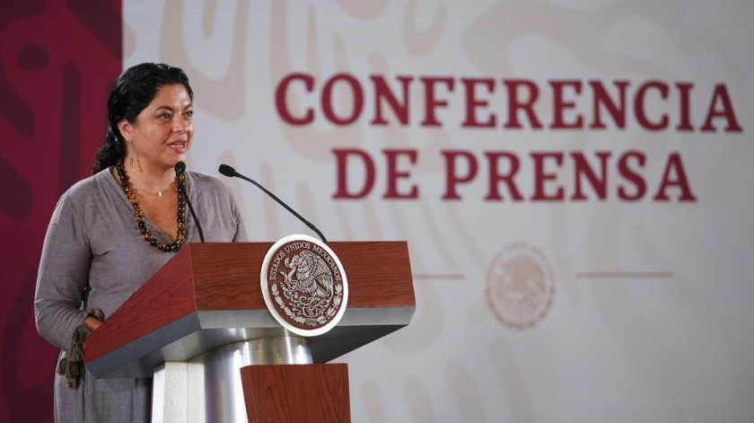 Alejandra Frausto(Gobierno de México)