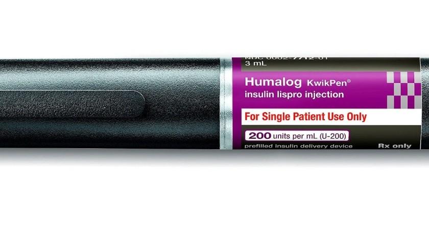 La insulina lispro costará 137.35 dólares la cápsula, o 265.20 dólares el paquete de cinco KwikPens