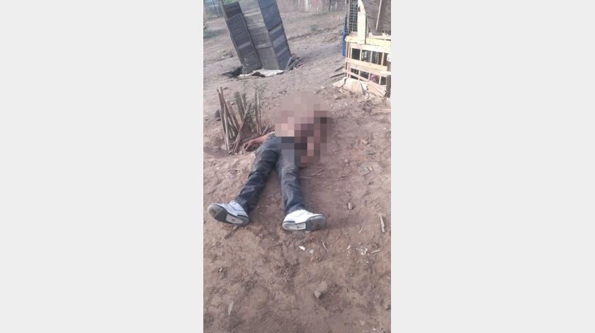 Matan a un hombre a tiros en el ejido Chiapas(Cortesía)