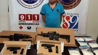 """Felipe """"N"""", de 30 años de edad, """"El Boca de Bagre"""", fue detenido en la colonia Valle Verde."""