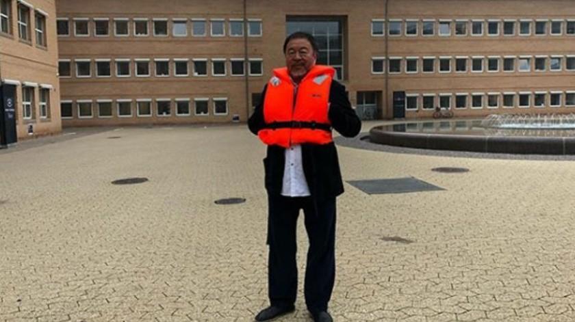 Aiweiwei acudirá a juicio en Copenhague contra Volkswagen.(Cortesía Instagram)