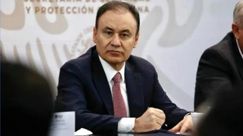 Alfonso Durazo, secretario de Seguridad y Protección Ciudadana