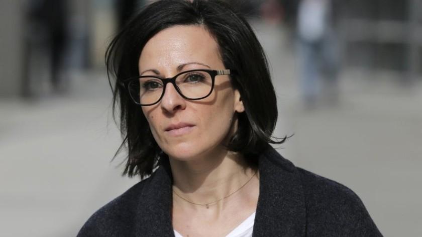 Lauren Salzman reveló detalles sobre castigos a las exclavas.(AP)