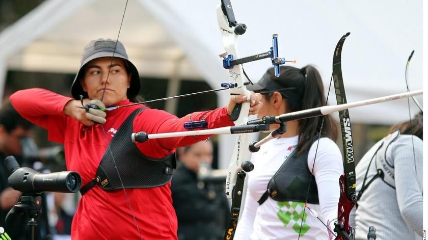 Alejandra Valencia salió avante tanto en la modalidad individual como en equipos.(Banco Digital)