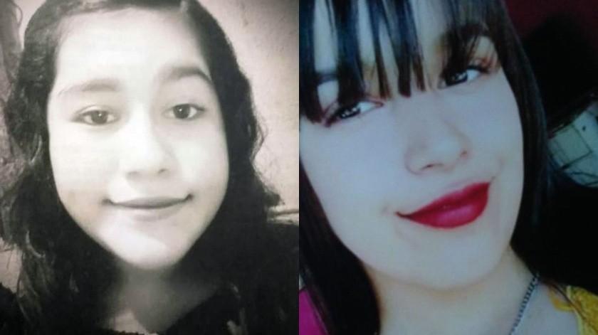 Juliana Elissa desapareció el 20 de mayo y Leslie Denisse el 22 de mayo.(Cortesía)