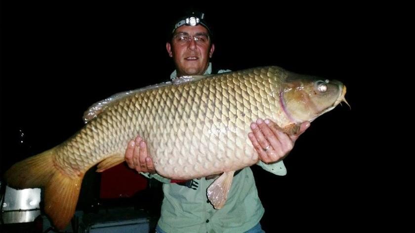 Pesca en el Lago Peña Blanca.