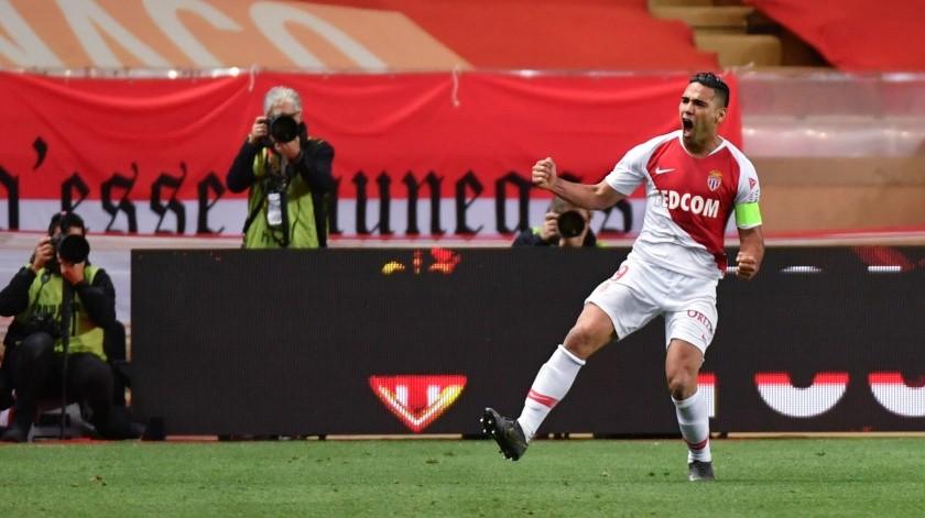 ¿Podrá Falcao salvar al Mónaco en La Ligue 1?(AFP)