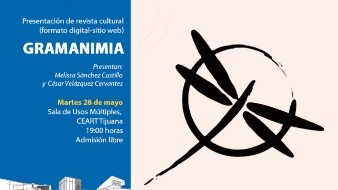 La presentación es admisión libre y tendrá lugar en la Sala de Usos Múltiples del Centro Estatal de las Artes Tijuana a las 19:00 horas.