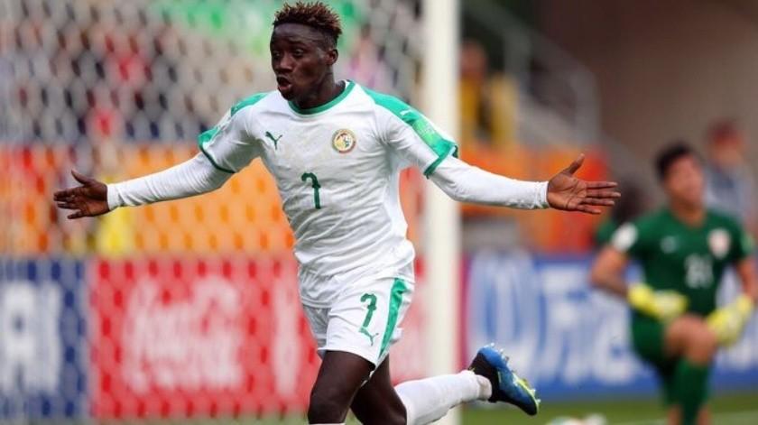 Amadou Sagnahizo historiacon su gol no solo para su país, sino también para la competición.(Twitter)