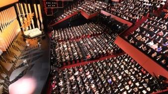 Ceremonia de clausura del Festival de Cine de Cannes, celebrado al Sur de Francia.