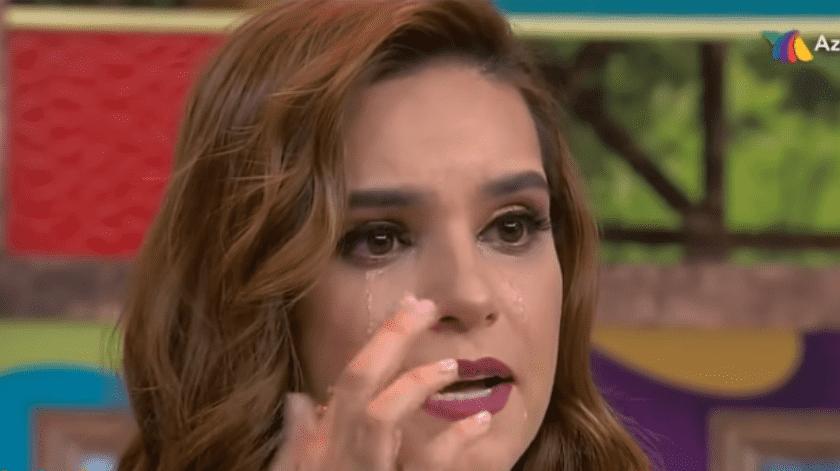 Tania Rincón se va de 'Venga la Alegría' y su despedida terminó en llanto.(Youtube)