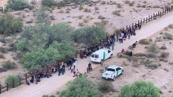 Supera abril récord de detenciones migratorias en EU