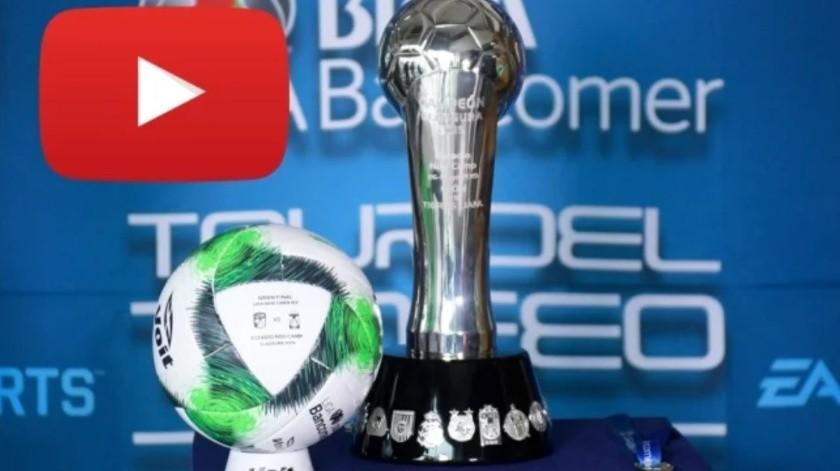 Youtube al rescate de la final León vs Tigres(Especial)