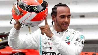 Hamilton vence en Mónaco