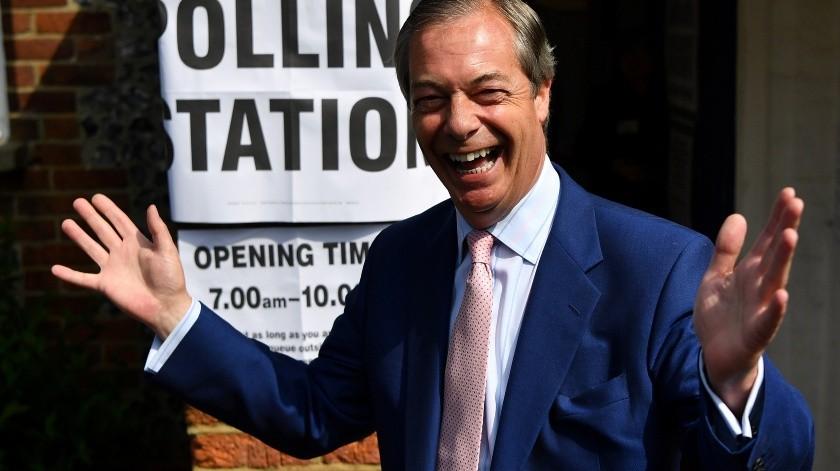 Partido del Brexit domina con más del 30 % en Reino Unido(AFP)