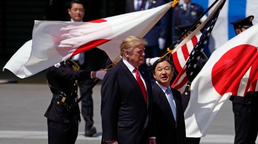 """Trump afirma que hay un """"gran respeto"""" entre EU y Corea del Norte.(AFP)"""