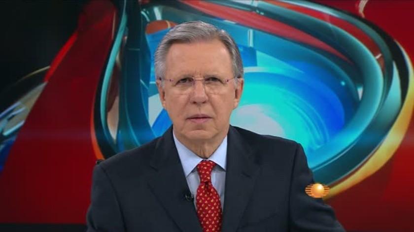 Este domingo Joaquín López-Dóriga tuvo que recular luego de haber compartido una información falsa.