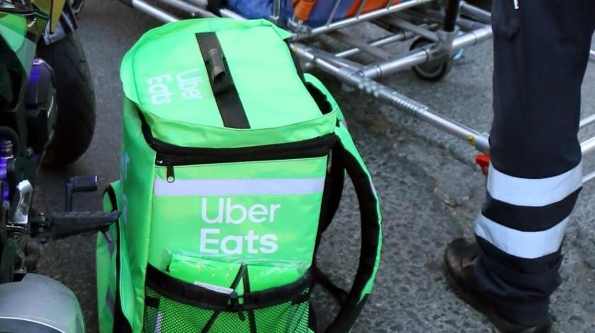 Uber Eats.(Agencia Reforma)