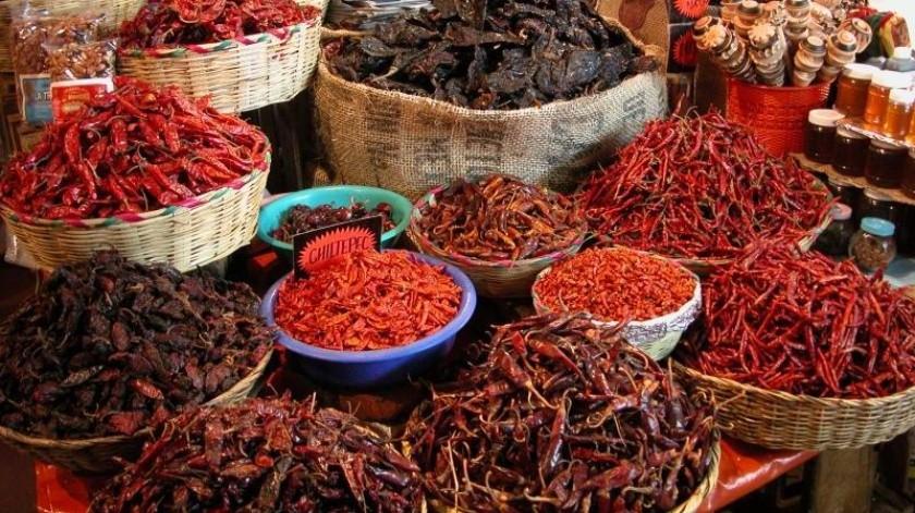 El chile es por excelencia, un sello característico de la gastronomía mexicana.(Tomada de la red)