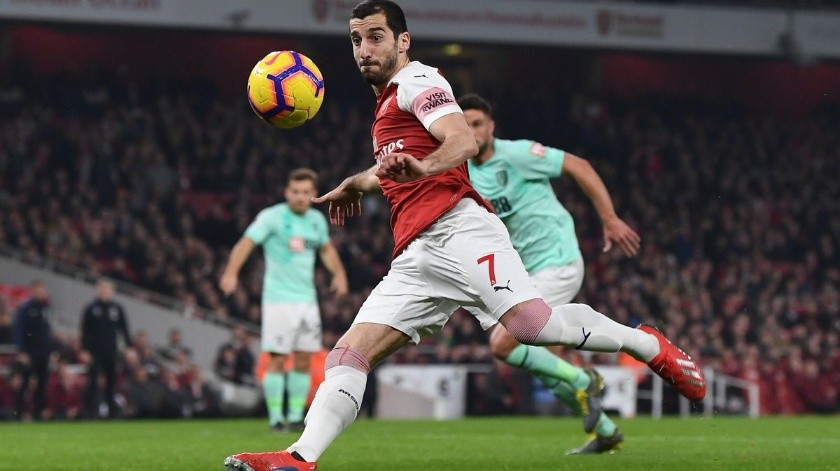 El jugador del Arsenal es originario de Armenia y decidió no jugar el partido por los conflictos que existen entre su nación y Azerbaiyán.(Twitter)
