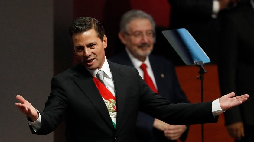 Enrique Pena Nieto(Copyright 2018 The Associated Press. All rights reserved., AP)